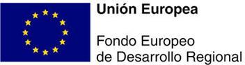 Unión Europea | Fondo Europeo de Desarrollo Regional.