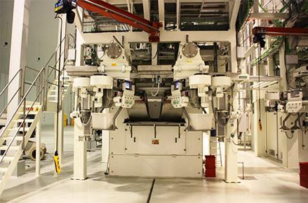 Línea producción pasta corta
