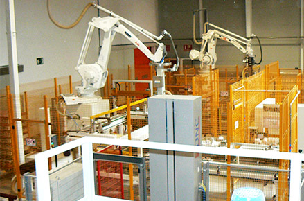 Packaging and packing lines for flours and semolinas