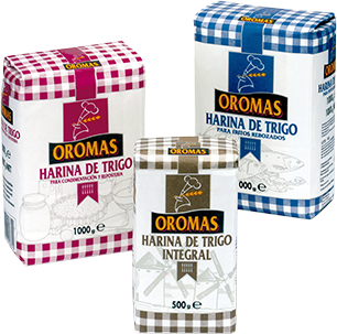 Packaged flours